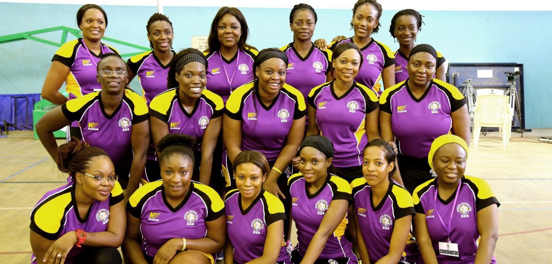 Bring Netball Back Nigeria team photo