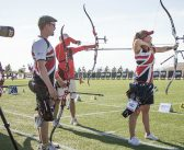British archers in World Cup action