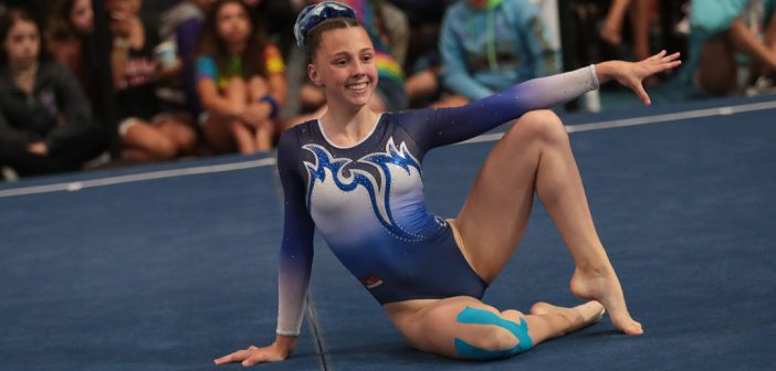 The Story of a Successful Teenage Gymnast