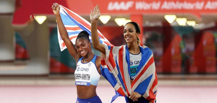 Katarina Johnson-Thompson and Dina Asher-Smith – It Could Be You